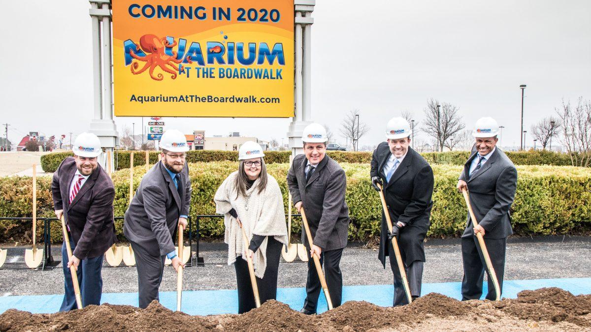 Groundbreaking Moves Promise of Branson's Aquarium At The ...