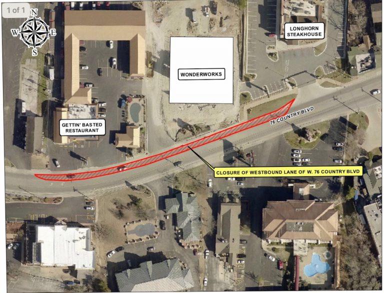 "200206 Hwy 76 closure 2020 Gettin Basted 768x586 - Temporary Hwy. 76 daylight hours lane closure near ""Wonderworks"""