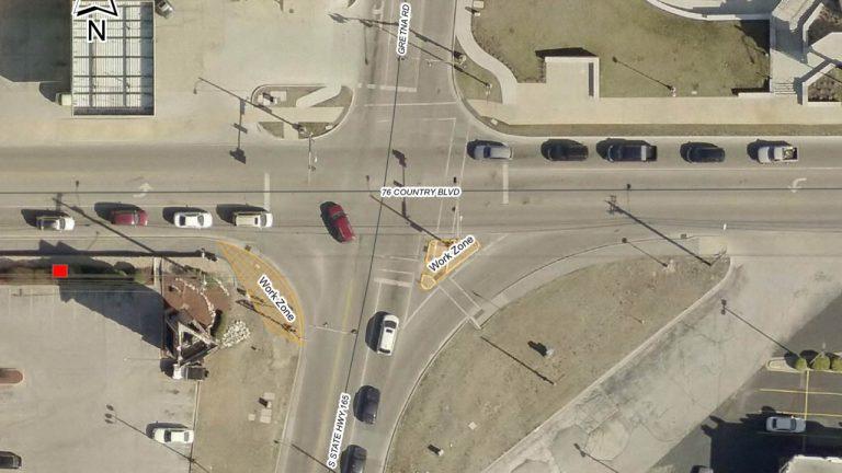 200303 Pedestrian Safety improvements Gretna 76 NOP 768x432 - Branson Register - Vacation News and Information